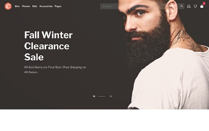 CartMint - Ecommerce Bootstrap Template