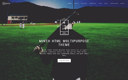 Minth - Multipurpose HTML Template