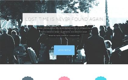 Tempus - Modern Landing Page