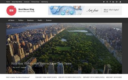 Best News / Magazine Blog - WordPress