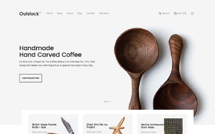 Outstock - eCommerce Bootstrap Template