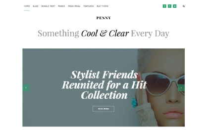 Penny - Blog & Magazine WordPress Theme