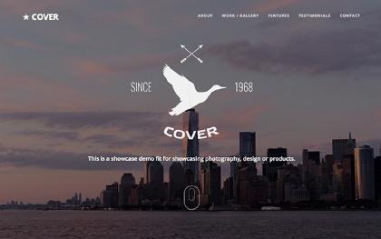Cover - Responsive Multipurpose Template