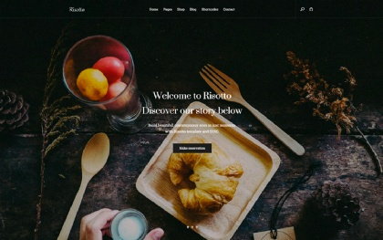 Risotto: Responsive Restaurant Template