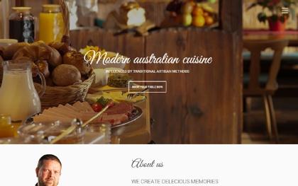Prasto - One Page Restaurant Theme