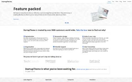 Responsive StartupTheme