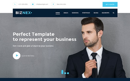 BIZNEX - Multipurpose Business Theme