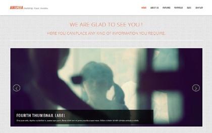 Anisha - Business & Portfolio Template