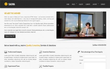Salma - Responsive HTML MultiPurpose