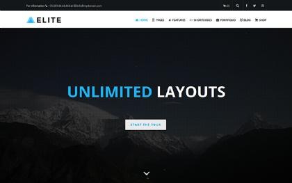 Elite - Multi-Purpose WordPress Theme