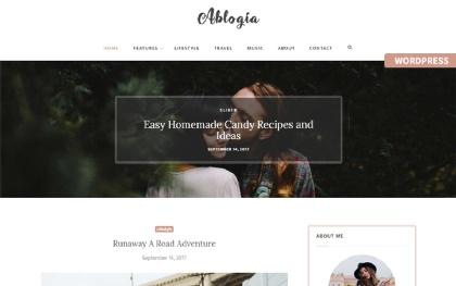 Ablogia - Personal WordPress Blog Theme
