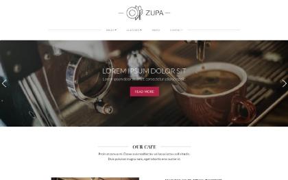 ZUPA - Restaurant Website Template