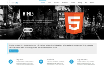 Smart Responsive Business Template