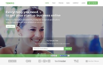 Tempo | Designed for Startups