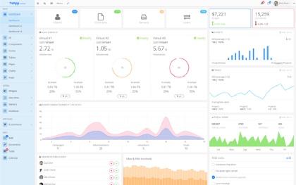 YeApp - Admin Web UI KIT + AngularJS