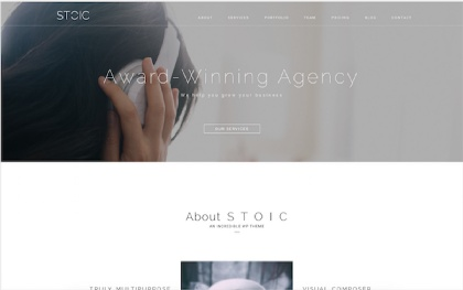 Stoic - Multipurpose WordPress Theme