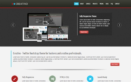 Creativo - Responsive Website Template