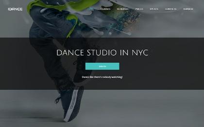 IDance - Dance or Yoga Studio Template