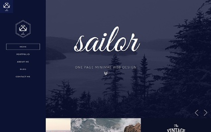 Sailor - Creative Portfolio Template