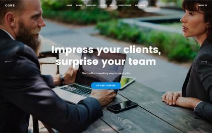 Core - MultiPurpose Bootstrap 4 Theme