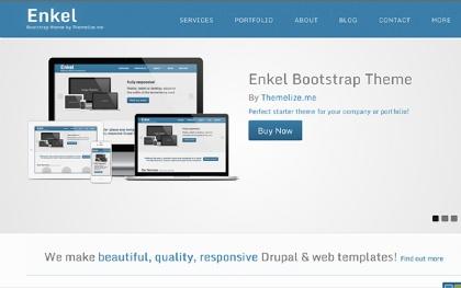 Enkel Responsive Bootstrap Theme