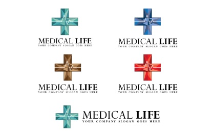 Medical Life V.2 Logo Template