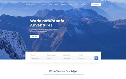 Safetour - Travel & Tour Agency Template
