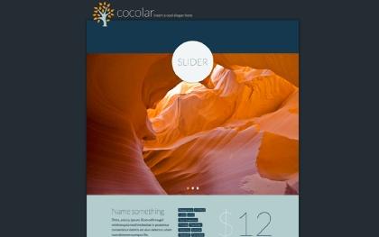 COCOLAR - Modern Flat MonoPage