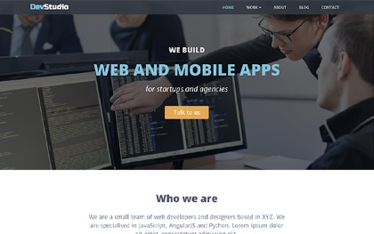DevStudio | For Web Development Agencies