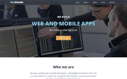 DevStudio - For Agencies (Bootstrap 4)