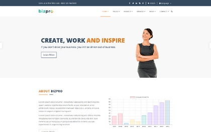 Bizpro - Multipurpose Template