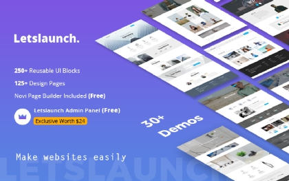 Letslaunch - A Multipurpose Website
