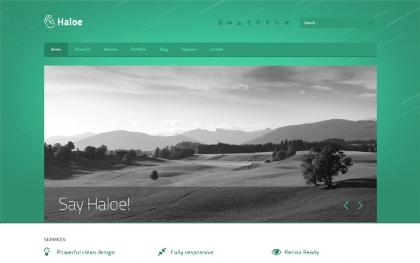 Haloe - Responsive HTML Template