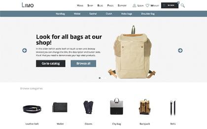 LIMO - E-Commerce Multi-Purpose Template