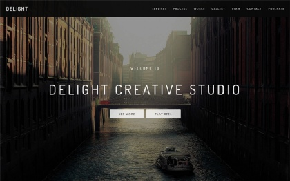Delight - Multipurpose One Page Template