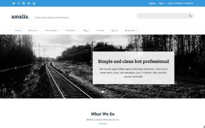Amalia - Responsive HTML Themes