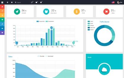 Flatify - Responsive Admin Web App