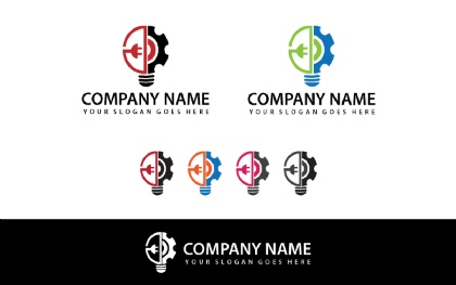 Idea-tech Logo Template