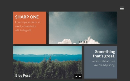 Sharp One ~ Responsive One Page Template