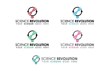 Science Revolution Logo Template