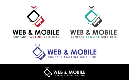 Web & Mobile Logo Template