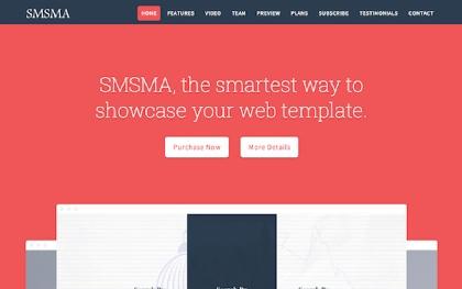Smsma - Landing Page