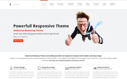 Undecimo Bootstrap Theme