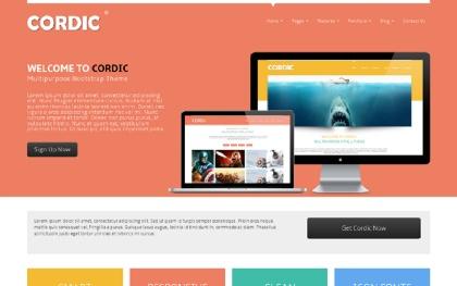 CORDIC - Multipurpose Bootstrap Theme