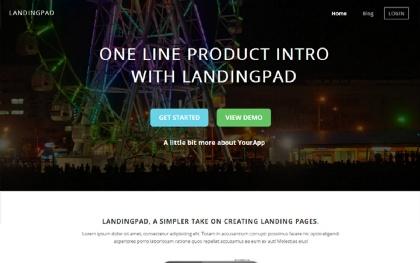 LandingPad - Landing Page