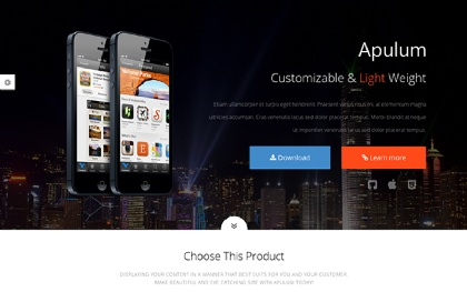 Apulum - One Page Template