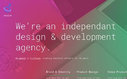 Unison - Material Design Template