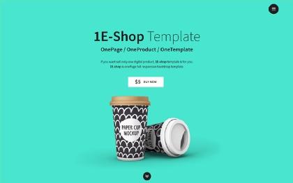 1E-shop - One-Page Single Product Shop