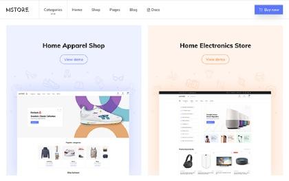 M-Store - Modern E-Commerce Template
