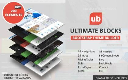 Ultimate Blocks - Theme Builder